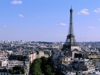 обои Франция - Эйфелева башня фото