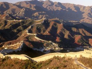 обои Панорама китайской стены фото