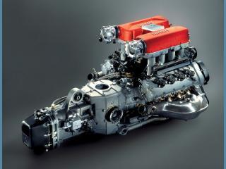 обои Двигетель автомобиля Феррари фото