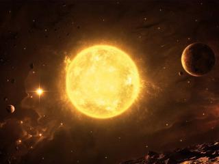 обои Солнце и планеты фото