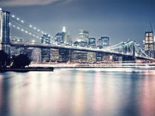 обои Большой городской мост фото