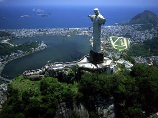 обои Статуя Рио-де-Жанейро фото