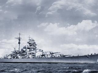 обои Большое военное судно фото