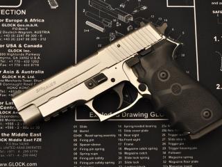 обои Пистолет и инструкция фото
