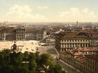 обои Старинное фото города фото