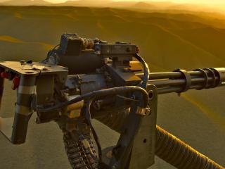 обои Пулемет вуртушка фото