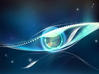обои Абстрактный глаз фото