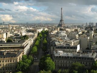 обои Старинные кварталы парижа фото