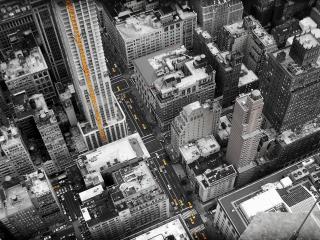 обои Сторения большого города с высоты фото