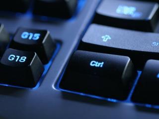 обои Темная клавиатура компьютера фото