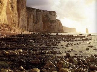 обои Каменистый берег фото
