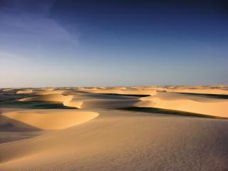 обои Барханы в пустыне фото