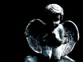 обои Скульптура АНГЕЛА фото