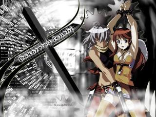 обои Bakaretsu Tenshi фото