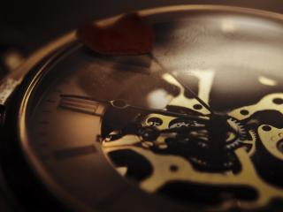обои Старинный механизм часов фото