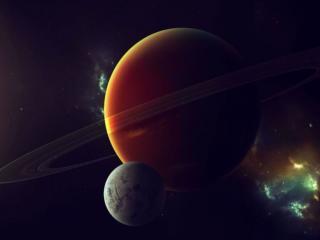 обои Планеты и вспышки фото