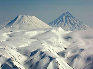 обои Вулканы и сопки Кроноцкого Заповедника фото