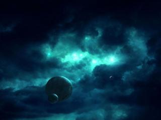 обои Грозный космос фото