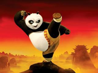 обои Герой Панда из мультфильма фото