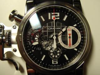 обои Циферблат часов GRAHAM фото