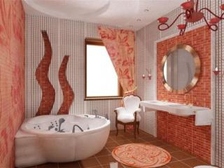 обои Интерьер ванной комнаты фото