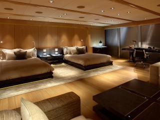 обои Двойная спальня в гостинице фото
