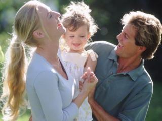 обои Счастливая семья фото
