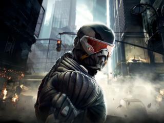 обои Главный герой игры Crysis фото