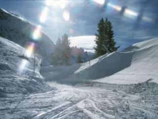 обои Горно-лыжная трасса фото