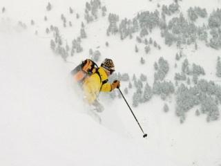 обои Горно-лыжный спорт фото