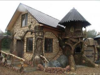 обои Сказочный дачный домик фото