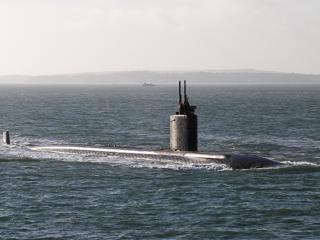обои Погружение подводной лодки фото