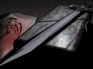 обои Лоск меча и щит фото