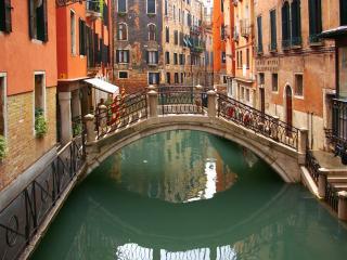 обои Небольшой мостик венеции фото