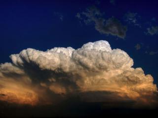 обои Снежные облака фото