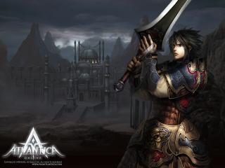 обои Atlantica Online - парень с мечом фото