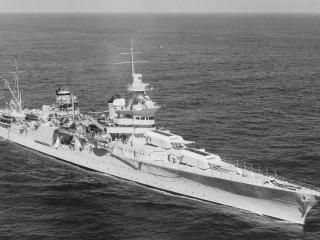 обои Тяжёлый крейсер ИНДИАНОПОЛИС фото