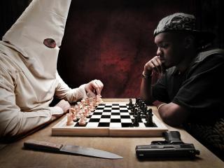обои Партия в шахматы фото