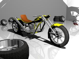 обои Мотоцикл Икар фото