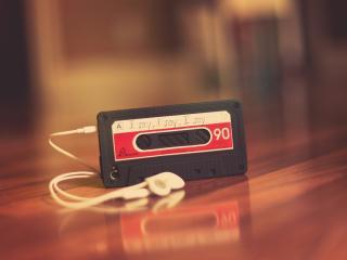 обои Корпус Appla в виде кассеты фото