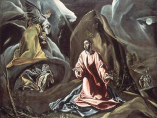 обои Эль Греко - Агония в Гефсиманском саду фото