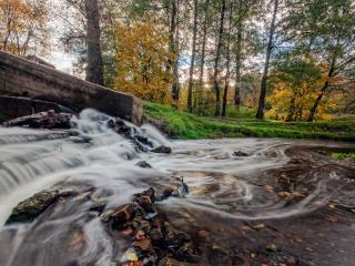 обои Московский водопад фото