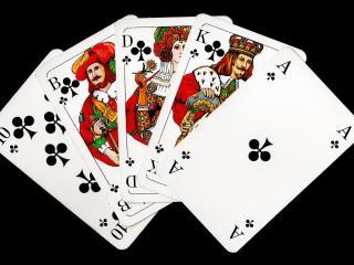 обои Пять крестовых карт фото