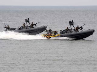 обои Пограничные лодки фото