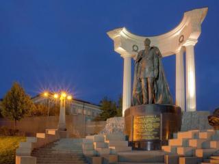 обои Памятник Александру II фото