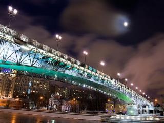 обои Фонари на мосту фото