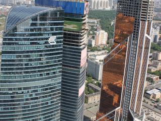обои Офис ВТБ банка в Москве фото