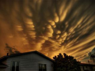 обои Вымеобразные облака,   Квебек фото