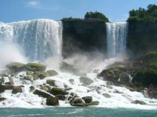обои Двойной водопад фото