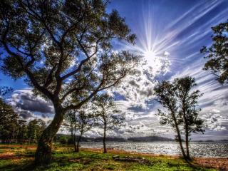 обои Красивая картина неба фото